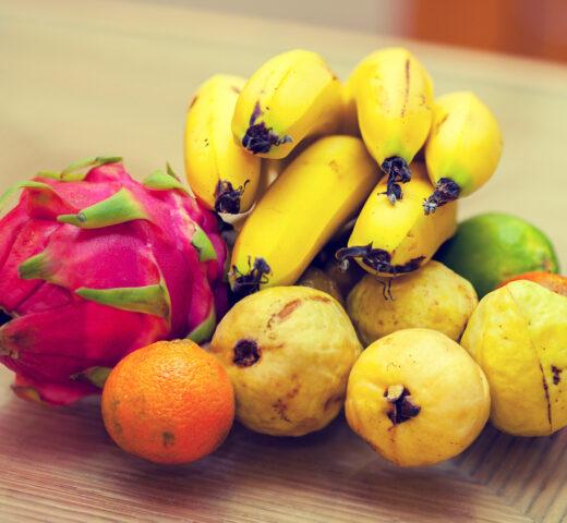 Fruits tropicaux du Nord Guadeloupe